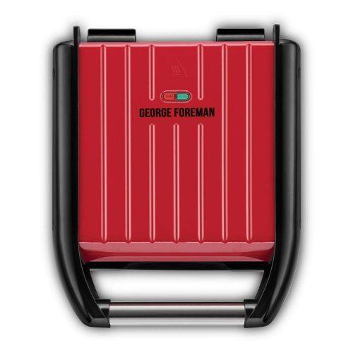 George Foreman 25030-56 Steel kompakt piros grill