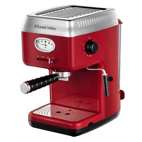 Russell Hobbs 28250-56 Retro Piros eszpresszó kávéfőző